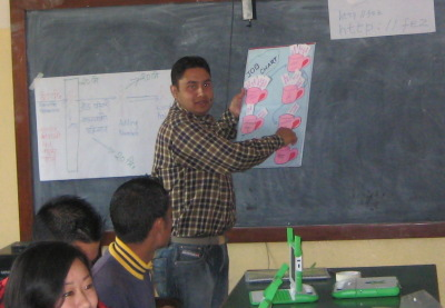 Manoj Explains how to use the Job Chart at His School