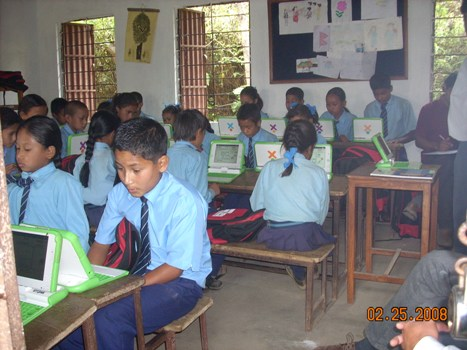 Bishwamitra grade 6 students working intesnsely-1