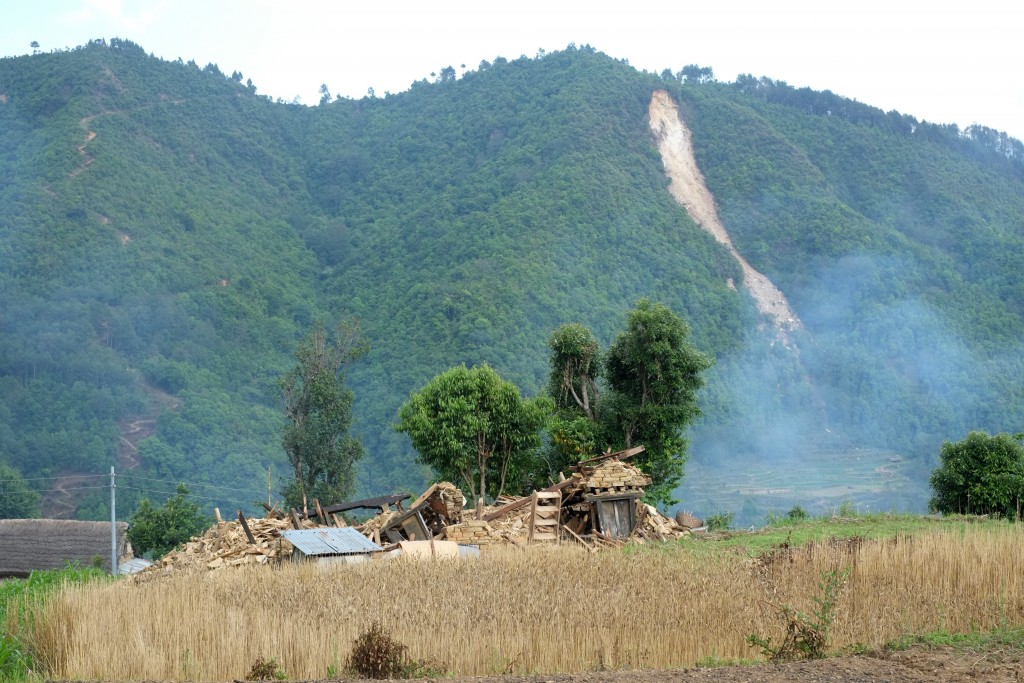 Landslides like this pose big threats as monsoon is coming