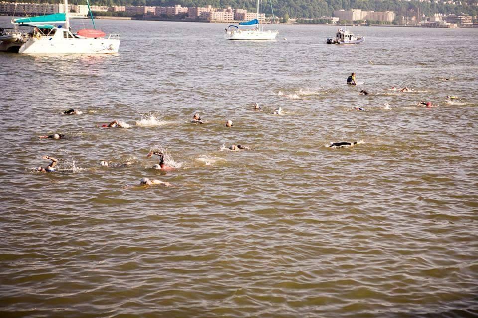 Swimming in hudson river
