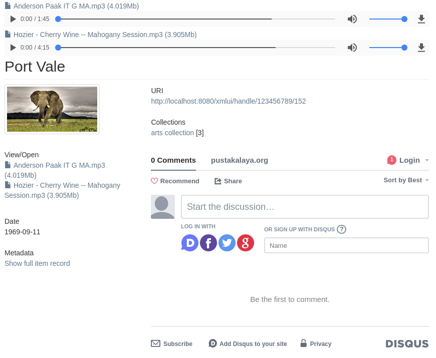 Commenting Features